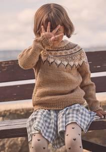 Bilde av Guro genser barn - Garnpakke