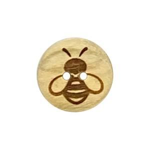 Bilde av Knapp med kun Bie symbol