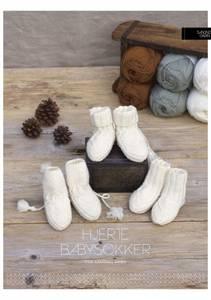 Bilde av KongleBySigrun - Hjerte babysokker - Garnpakke