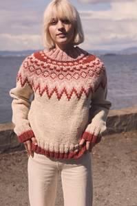 Bilde av Polarstjerne damegenser - Garnpakke