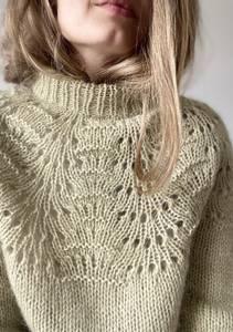 Bilde av Peacock sweater - Garnpakke